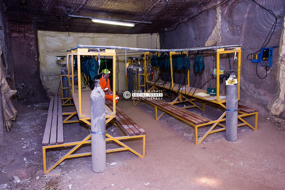 Safe Haven area Boulby Potash mine