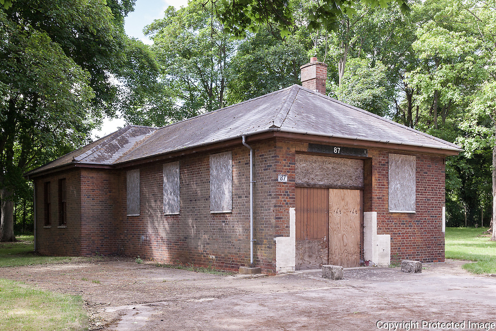 Building 87 Fire Party House. RAF Bicester