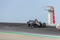 February 12, 2019 - Austin, Texas, U.S. - JAMES HINCHCLIFFE (5) of Canada goes through the turns during practice for the IndyCar Spring Test at Circuit Of The Americas in Austin, Texas. (Credit Image: © Walter G Arce Sr Asp Inc/ASP)