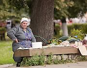 Street vendor, Suzdal, Russia