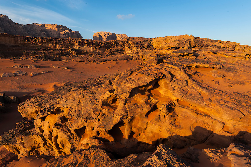 Arabian Desert at Wadi Rum, Jordan.