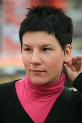 Urska Rabic at press conference of Slovenian men and women alpine skiing national team before new season 2008/2009 in Hervis, City park, BTC, Ljubljana, Slovenia, on October 20, 2008.  (Photo by: Vid Ponikvar / Sportal Images).