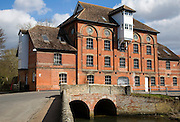 Hawks Mill watermill built 1884 now converted to housing, Needham Market, Suffolk, England
