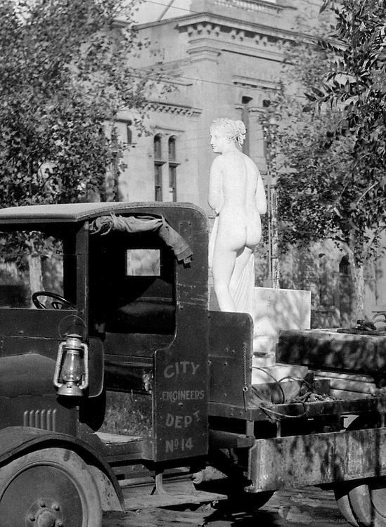 Venus on Truck, Adelaide, Australia, 1930