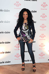 KANYA KING at a party to promote Marie Claire magazine Inspire & Mentor Campaign held at The Loft, The Ivy Club, West Street, London on 30th March 2010.