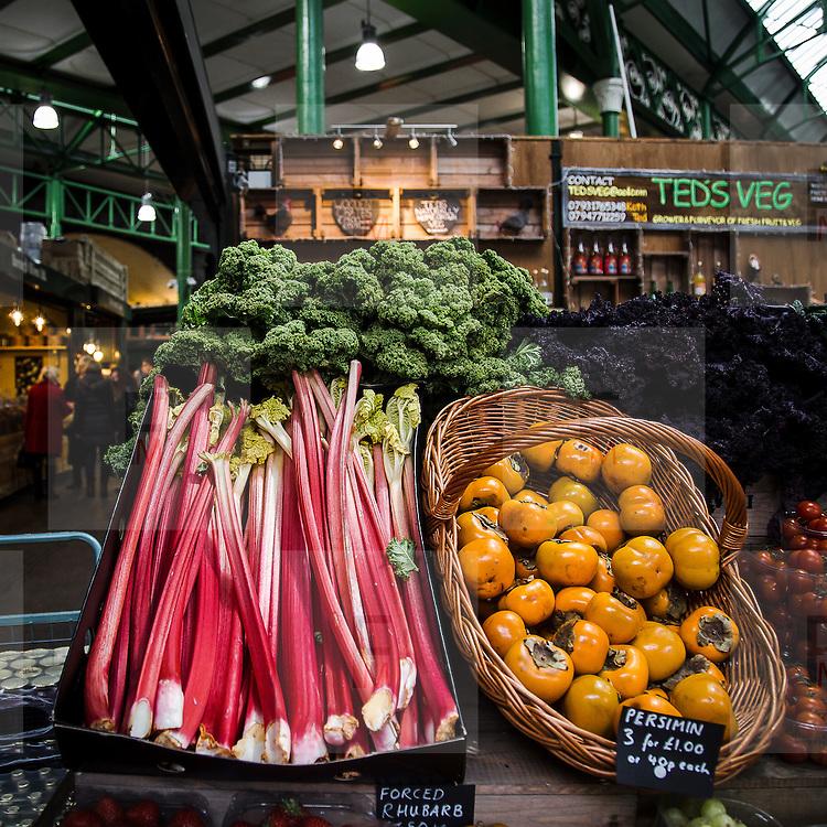 Frutta e verdura al Borough Market.<br /> <br /> Fruits and vegetables at the Borough Market.