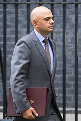 Downing Street,  London, June 27th 2015. State for Business Secretary Sajid Javid leaves the first post-Brexit cabinet meeting at 10 Downing Street.