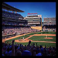 iPhone Instagram of Target Field in Minneapolis, Minnesota on June 21, 2014