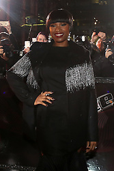 Jennifer Hudson arriving for The Voice UK auditions at The Voice UK Dock 10, Media City Blue, Salford, Manchester.