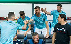 Milivoje Novakovic of Slovenia, Miha Blazic of Slovenia, Matija Sirok of Slovenia during football match between National teams of Slovenia and Malta in Round #6 of FIFA World Cup Russia 2018 qualifications in Group F, on June 10, 2017 in SRC Stozice, Ljubljana, Slovenia. Photo by Vid Ponikvar / Sportida