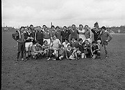 Irish Rugby Team.   (M73)..1979..11.05.1979..05.11.1979..11th May 1979..Prior to going on a tour to Australia, the Irish International Rugby Team had a light training session at the training ground in Lansdowne Road, Dublin.