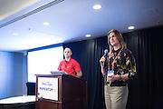 DocuSign hosts its Momentum 2016 summit at Union Square in San Francisco, California, on April 6, 2016. (Stan Olszewski/SOSKIphoto)