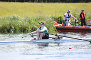 Race: 18  Event: Women's Single Sculls - Tier 2 - Final<br /> <br /> National Schools Regatta 2018<br /> Sunday<br /> <br /> To purchase this photo, or to see pricing information for Prints and Downloads, click the blue 'Add to Cart' button at the top-right of the page. The Metropolitan Regatta 2018