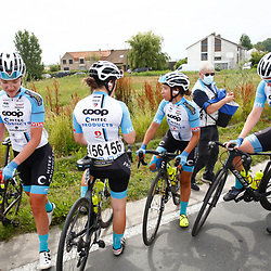 KNOKKE HEIST (BEL) July 10 CYCLING: 2nd Stage Baloise Belgium tour: Team Coop - Hitec Products
