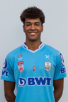 Download von www.picturedesk.com am 16.08.2019 (13:58). <br /> PASCHING, AUSTRIA - JULY 16: Tobias Lawal of LASK during the team photo shooting - LASK at TGW Arena on July 16, 2019 in Pasching, Austria.190716_SEPA_19_049 - 20190716_PD12450