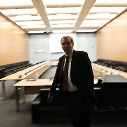 PARIS, FRANCE. DECEMBER 9, 2011. Belgium's former Prime Minister Yves Leterme, now the Deputy Secretary-General of the OECD, in the OECD offices. Photo: Antoine Doyen