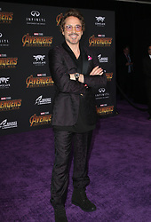April 23, 2018 - Hollywood, CA, U.S. - 23 April 2018 - Hollywood, California - Robert Downey Jr.. Disney and Marvel's ''Avengers: Infinity War'' Los Angeles Premiere held at Dolby Theater.  (Credit Image: © F. Sadou/AdMedia via ZUMA Wire)