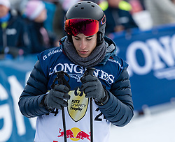 20.01.2018, Hahnenkamm, Kitzbühel, AUT, FIS Weltcup Ski Alpin, Kitzbuehel, Kitz Charity Trophy, im Bild Andrea Dovizioso // Andrea Dovizioso during the Kitz Charity Trophy of the FIS Ski Alpine World Cup at the Hahnenkamm in Kitzbühel, Austria on 2018/01/20. EXPA Pictures © 2018, PhotoCredit: EXPA/ Stefan Adelsberger