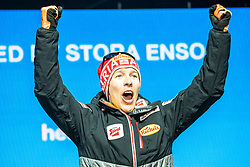 22.02.2019, Medal Plaza, Seefeld, AUT, FIS Weltmeisterschaften Ski Nordisch, Seefeld 2019, Nordischen Kombination, Siegerehrung, im Bild Bronzemedaillengewinner Franz Josef Rehrl (AUT) // Bronze medalist Franz Josef Rehrl of Austria during the winner Ceremony for the nordic combined of FIS Nordic Ski World Championships 2019 at the Medal Plaza in Seefeld, Austria on 2019/02/22. EXPA Pictures © 2019, PhotoCredit: EXPA/ Dominik Angerer