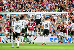 May 27, 2019 - London, England, United Kingdom - Richard Keogh (6) of Derby County jumps for the ball during the Sky Bet Championship match between Aston Villa and Derby County at Wembley Stadium, London on Monday 27th May 2019. (Credit: Jon Hobley | MI News) (Credit Image: © Mi News/NurPhoto via ZUMA Press)