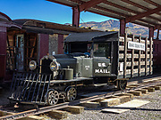 "The 1931 RGS Motor 1 (replica shown here built in 2000) was the precursor of the popular Galloping Goose, a gasoline-engine railbus. The RGS Motor 1 carried US Mail, express freight, and passengers from 1931-1933 for the Rio Grande Southern (RGS) Railroad, a narrow gauge (3 ft wide) which ran from Durango to Ridgway (until 1953). In October 1933, its great success caused the original RGS Motor 1 to be scrapped for parts and converted to enlarged versions, seven of which would become the ""Galloping Geese"" railcars which officially operated under that name in 1950-1951. We visited the Ridgway Railway Museum while bicycling along the Uncompahgre Riverway Trail (Rails to Trails), in Ridgway, Colorado, USA."