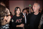 MARY MCCARTNEY, Chris Stein / Negative: Me, Blondie, and The Advent of Chris Stein / Negative: Me, Blondie, and The Advent of Punk - private view, Somerset House, the Strand. London. 5 November 2014.