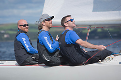 Largs Regatta Festival 2018<br /> <br /> Day 1- Excalibur, Brian Young<br /> <br /> Images: Marc Turner