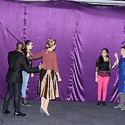 NLD/Almere/20150205 - Koningin Maxima bezoekt Almere on Stage,