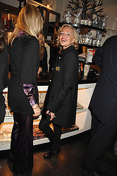 Left to right, ALLEGRA HICKS and AMANDA ELIASCH at a party hosted by Allegra Hicks to launch Lapo Elkann's fashion range in London held at Allegra Hicks, 28 Cadogan Place, London on 14th November 2007.<br /><br />NON EXCLUSIVE - WORLD RIGHTS
