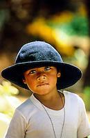 Girl, Tzurumutaro, near Patzcuaro, Michoacan, Mexico