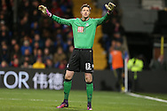 goalkeeper Wayne Hennessey of Crystal Palace in action. Premier League match, Crystal Palace v Manchester city at Selhurst Park in London on Saturday 19th November 2016. pic by John Patrick Fletcher, Andrew Orchard sports photography.