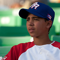 9 March 2009: A young fan of Puerto Rico is seen during the 2009 World Baseball Classic Pool D game 4 at Hiram Bithorn Stadium in San Juan, Puerto Rico. Puerto Rico wins 3-1 over Netherlands