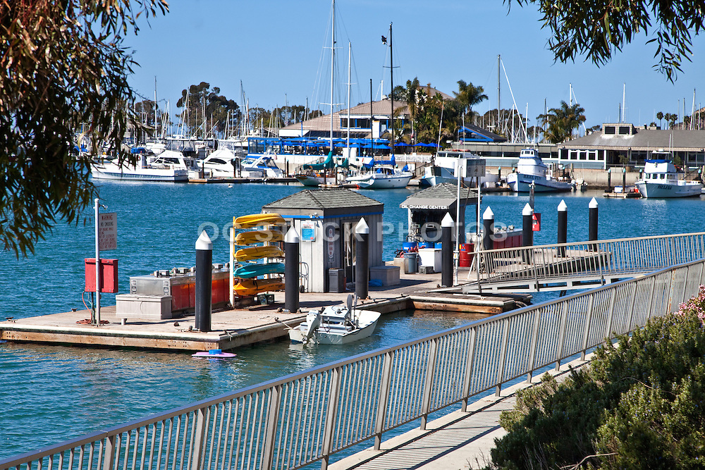 The Fuel Dock in the Dana Point Harbor