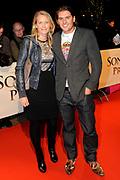 Premiere van de film Sonny Boy op maandag 17 januari in het Circus Theater in Scheveningen.<br /> <br /> Op de foto:<br /> <br />  Jakob Krabbé met vriendin