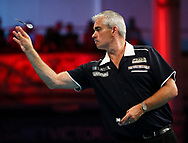 Steve Beaton during the BetVictor World Matchplay at Winter Gardens, Blackpool, United Kingdom on 22 July 2018. Picture by Chris Sargeant.