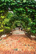 The Prisoner of War Brick Steps at the Singapore Botanic Gardens, Singapore, Republic of Singapore