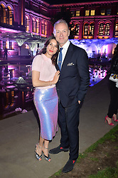 GARY & LAUREN KEMP at the V&A Summer Party in association with Harrod's held at The V&A Museum, London on 22nd June 2016.
