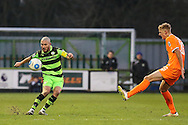 Forest Green Rovers Liam Noble(15) during the Vanarama National League match between Forest Green Rovers and Braintree Town at the New Lawn, Forest Green, United Kingdom on 21 January 2017. Photo by Shane Healey.