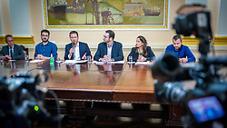 Prefeito de Porto Alegre Nelson Marchezan Junior durante coletiva de imprensa sobre o Coronavírus. FOTO: Jefferson Bernardes