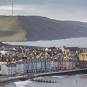 First Light, Aberystwyth from Constitution Hill, Ceredigion.