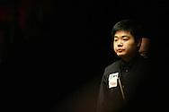 Ding Junhui. Welsh Open Snooker at the Newport Centre, Feb 2009.
