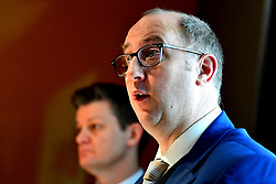 Chief Executive of the British Horseracing Authority Nick Rust during the BHA Press Conference at Pullman Hotel St Pancras, London.