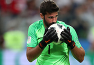 Alisson of Brazil during the 2018 FIFA World Cup Russia, Group E football match between Erbia and Brazil on June 27, 2018 at Spartak Stadium in Moscow, Russia - Photo Tarso Sarraf / FramePhoto / ProSportsImages / DPPI