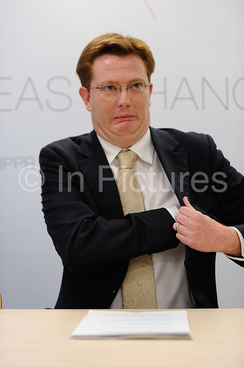 Danny Alexander MP speaking in London, United Kingdom. Danny Alexander is a Scottish Liberal Democrat politician who was Chief Secretary to the Treasury between 2010 and 2015. He was the Member of Parliament MP for the Inverness, Nairn, Badenoch & Strathspey constituency from 2005 until the general election in May 2015.