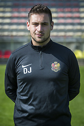September 26, 2017 - Tubize, BELGIUM - Video Analyst Damien Januel poses for photographer at another session after the 2017-2018 season photo shoot of Belgian 1B league soccer team Tubize, Tuesday 26 September 2017 in Tubize. BELGA PHOTO LAURIE DIEFFEMBACQ (Credit Image: © Laurie Dieffembacq/Belga via ZUMA Press)