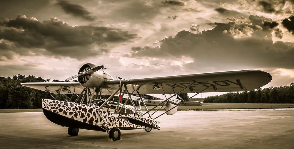 """Sikorsky S-39 """"Flying Boat"""", named after designer Igor Sikorsky."""