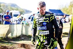 Klemen Gercar #62 of Slovenia during motocross race for Slovenian national championship in Prilipe, Brezice, Slovenija on 9th of April, 2017, Slovenia. Photo by Grega Valancic / Sportida