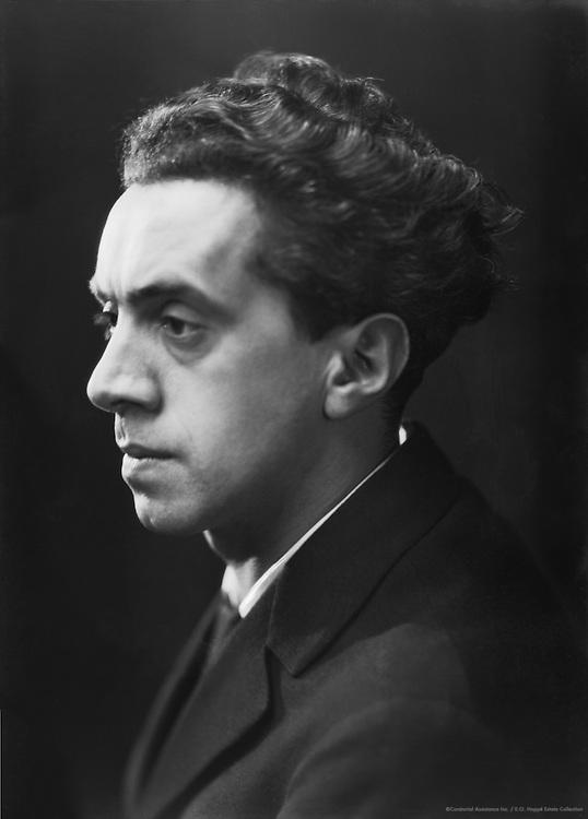Ernst Toller, German Playwright, 1925