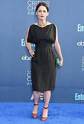 Celebrities arrive on the red carpet for the 22nd Annual Critics' Choice Awards held at Barker Hanger in Santa Monica. 11 Dec 2016 Pictured: Robin Tunney. Photo credit: American Foto Features / MEGA TheMegaAgency.com +1 888 505 6342