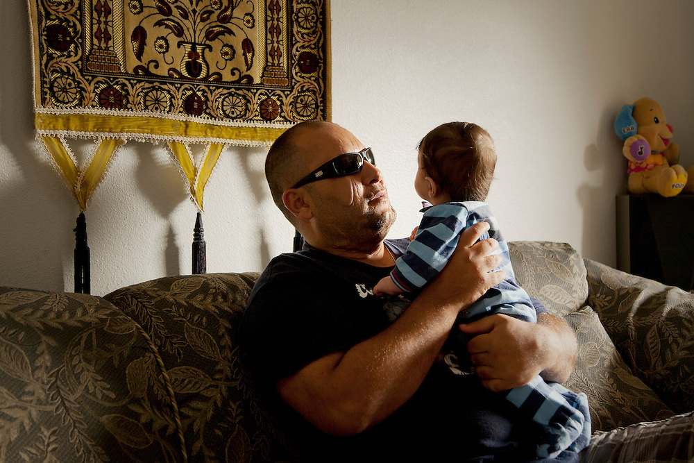 While working as a bodyguard for US contractors in Iraq, a car bomb exploded outside Hayder Abdulwahab's home. When Hayder regained consciousness he found he was blind and left for dead in a Baghdad morgue. From there his life began a new path as a refugee, relocated to Tampa, Florida. Still blind (though slowly regaining some sight through a series of operations) and with long-term injuries from the blast Hayder is working to build a new future and care for his family.